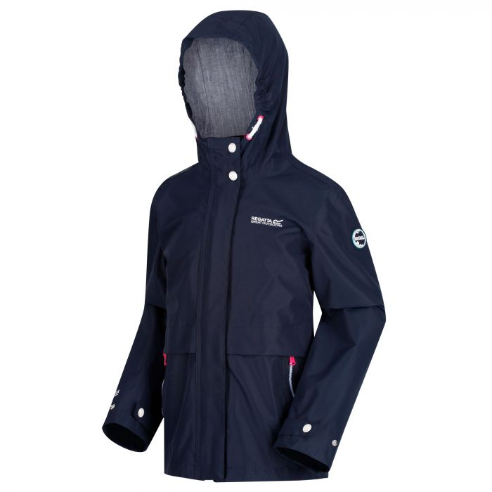 eb7f8db1a99 Kids  Bambalina Lightweight Waterproof Jacket Navy
