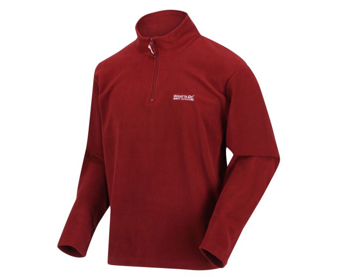 Men's Thompson Lightweight Half-Zip Fleece Merlot