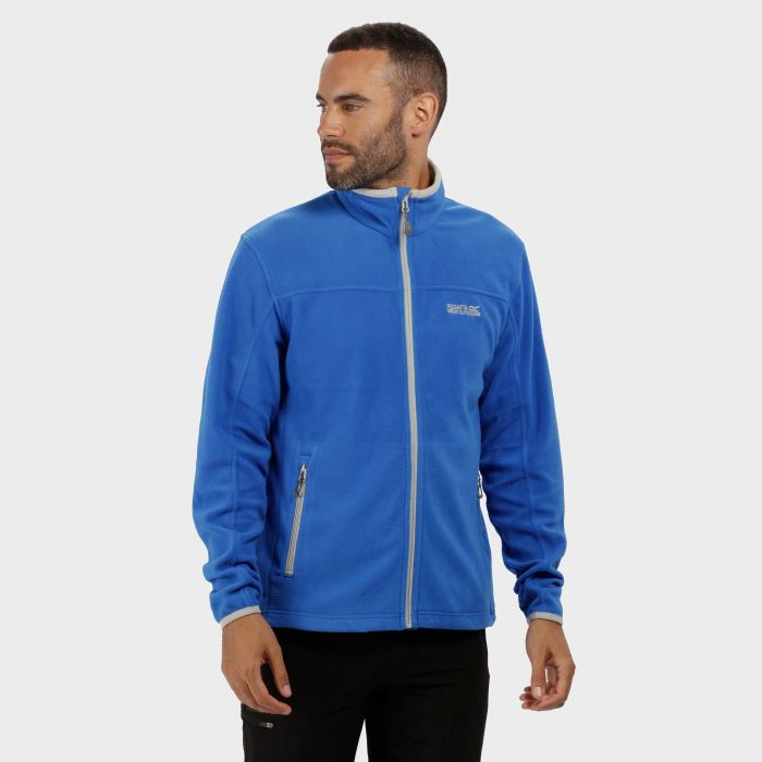 Stanton II Mid Weight Full Zip Fleece Oxford Blue Light Steel