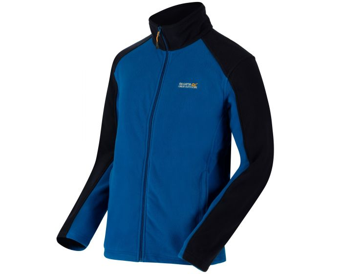 Men's Hedman II Heavyweight Full Zip Fleece Oxford Blue Navy