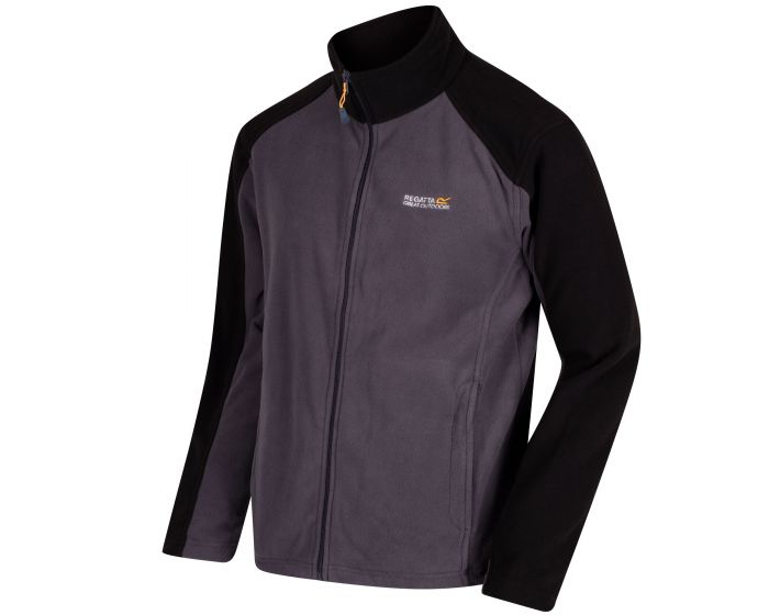 Men's Hedman II Heavyweight Full Zip Fleece Iron Black