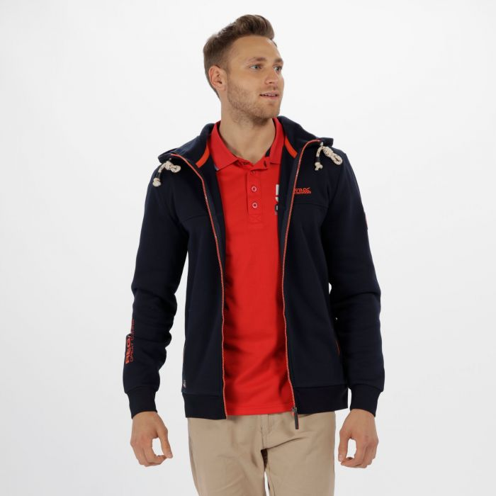 Dinnsmore Cotton Drawback Hoodie Navy