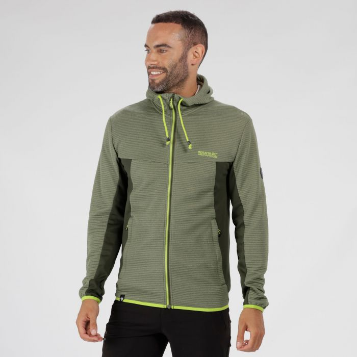 Tarnis Full Zip Hooded Fleece Racing Green