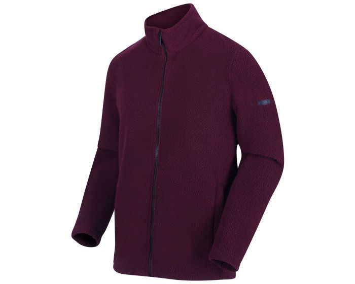 Men's Garrian Full Zip Heavyweight Fleece Port Royale Black