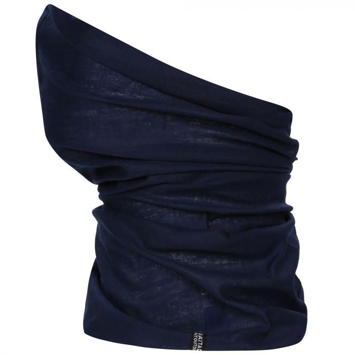 Adults Stretch Multitube Scarf Navy