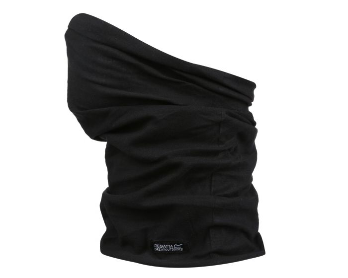 Adults Triple Layer Face Covering 3 Pack Black
