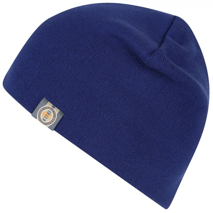 Baumar Cotton Beanie Navy
