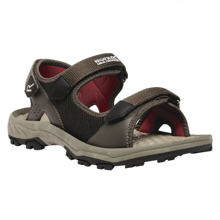 Men's Terrarock Lightweight Sandals Peat Delhi Red