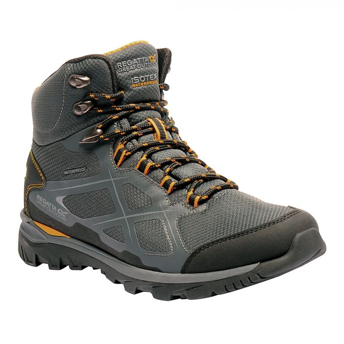Men's Kota Mid Walking Boots Briar Zinnia