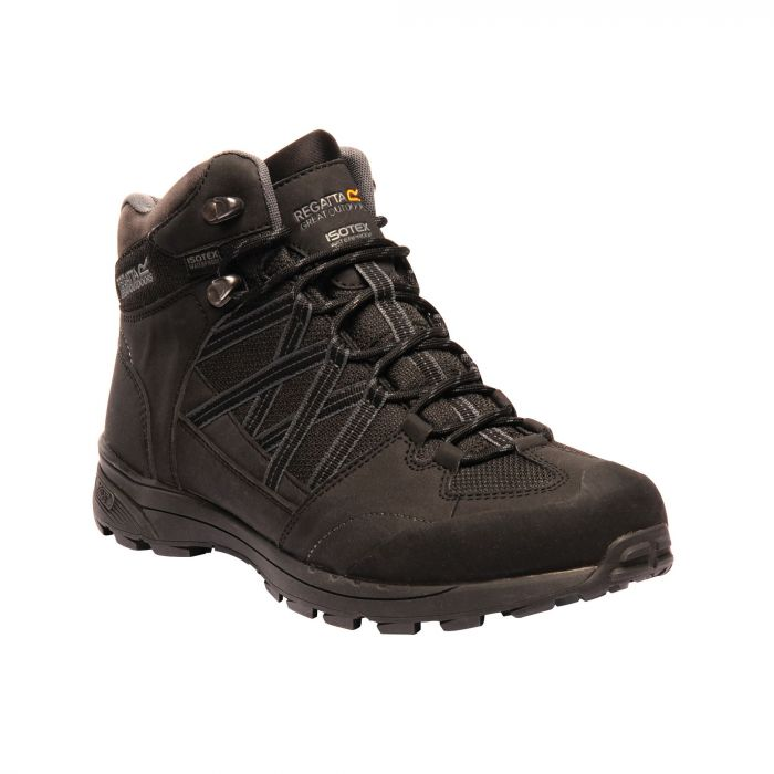 b2709599156 Men's Samaris II Mid Walking Boots Black Granite