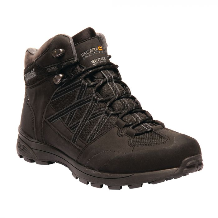 Men's Samaris ll Mid Hiking Boots Black Granite