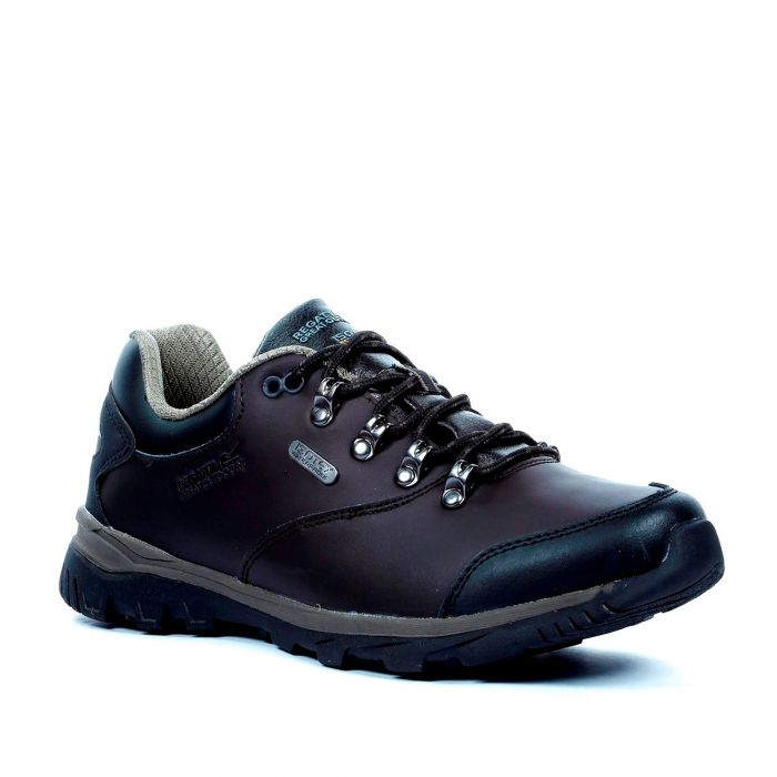Men's Kota Leather Low Walking Shoes Peat Teatop