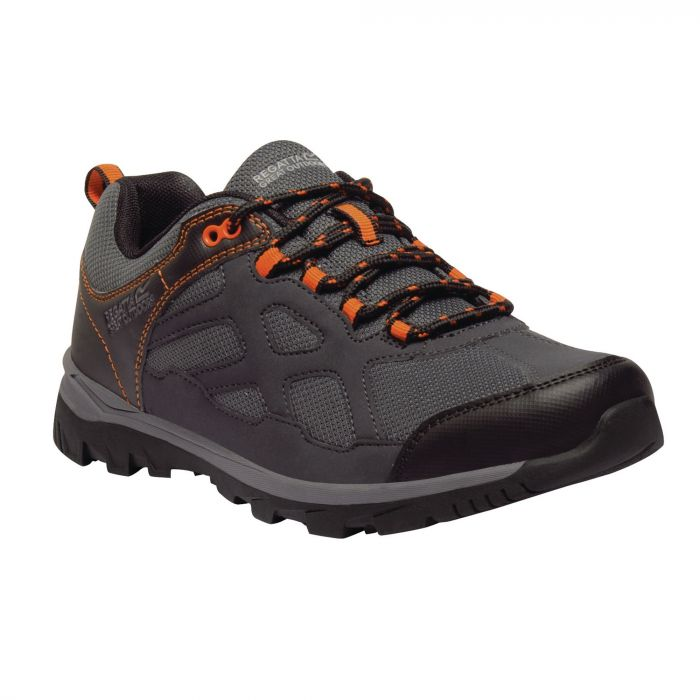 Men's Kota Crux Low Walking Shoes Ash Magma