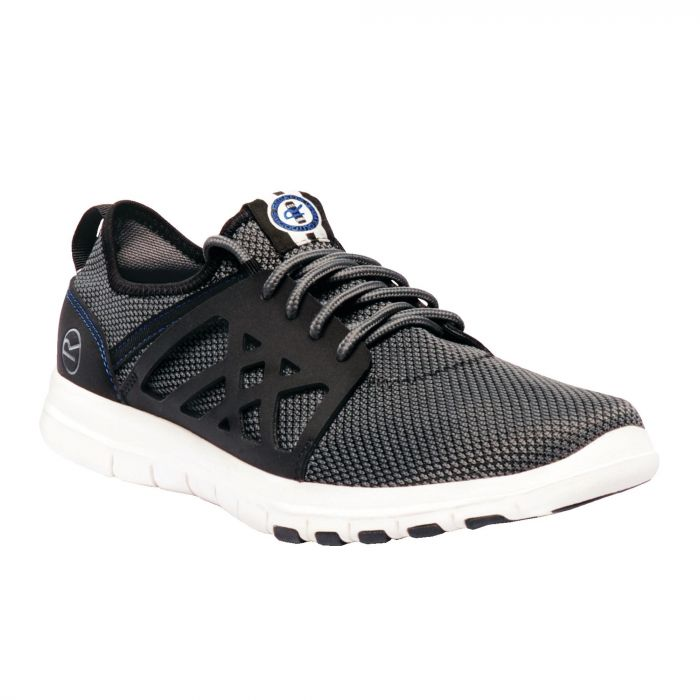Men's Marine Sport Lightweight Shoes Rock Grey Black