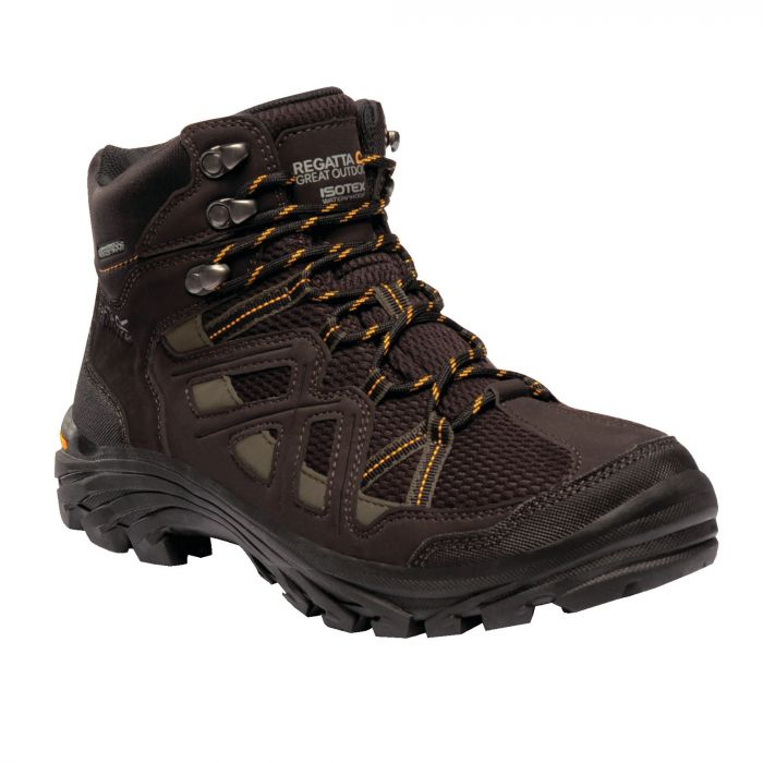 Men's Burrell II Hiking Boots Peat Treetop