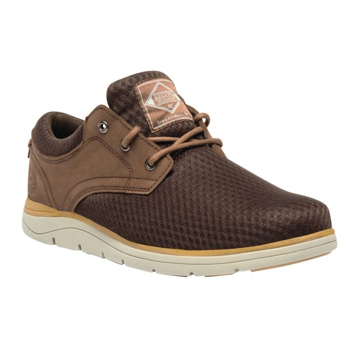Men's Caldbeck Lite Nubuck Mesh Shoes Indian Chestnut
