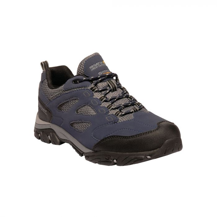 Holcombe IEP Low Shoes Navy Granite