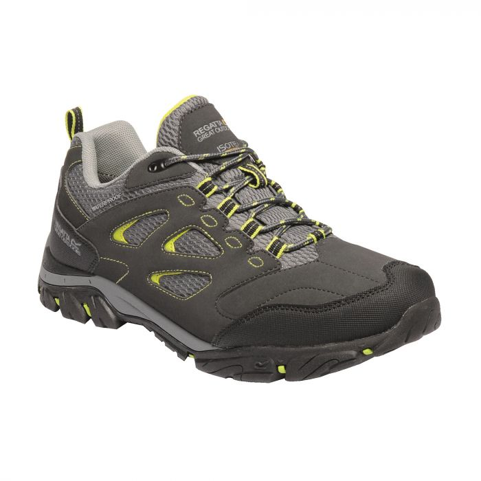 Holcombe IEP Low Shoes Ash Lime Green