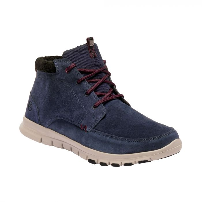 Marine Mid Thermo Boots Navy Burgundy