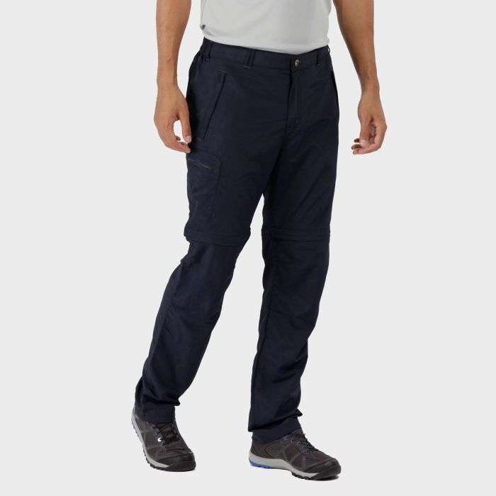 Leesville Zip Off Trousers Navy