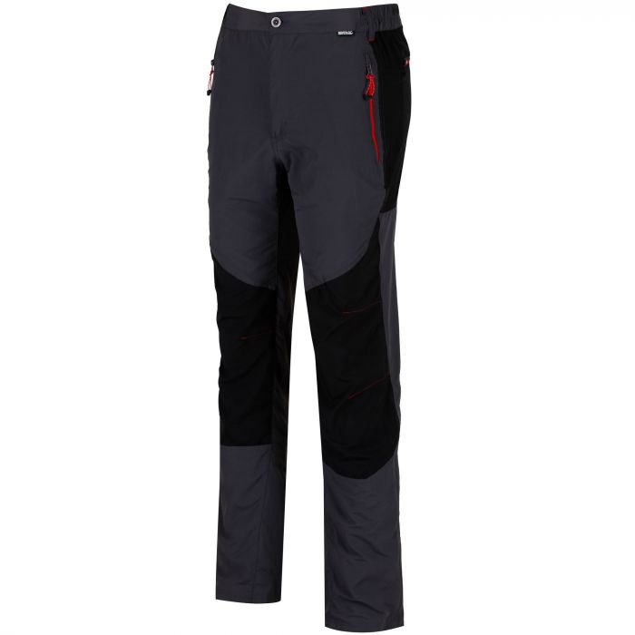Sungari Trousers Seal Grey Black