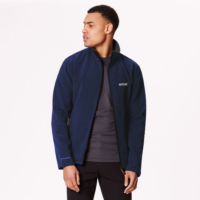 Cera III Funnel Neck Softshell Jacket Navy