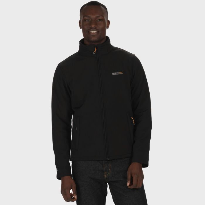 Cera III Funnel Neck Softshell Jacket Black