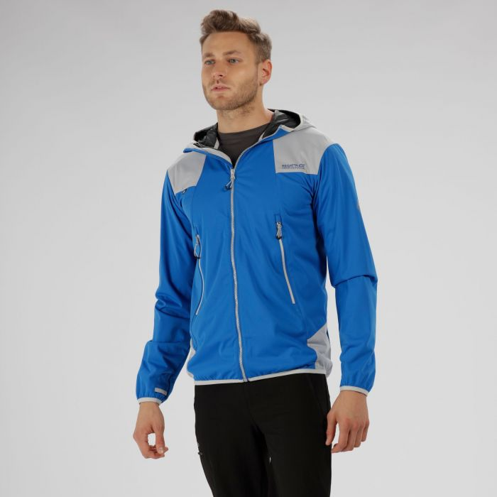 Static IV Lightweight Softshell Jacket Oxford Blue Light Steal