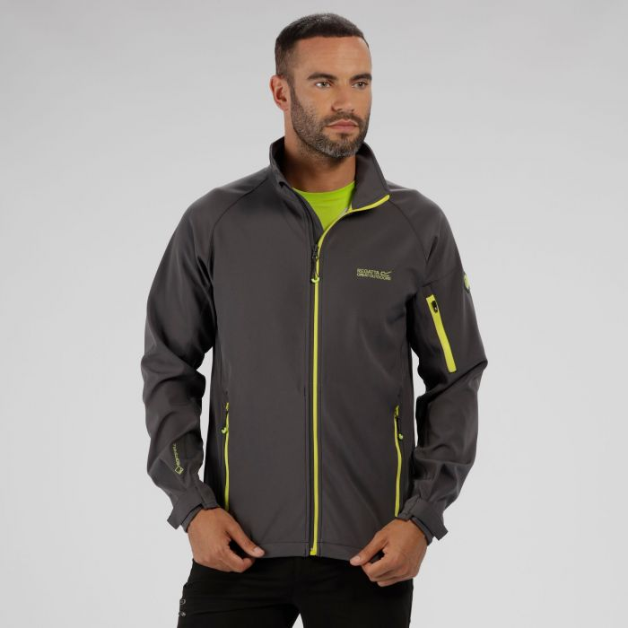 Nielson IV Lightweight Softshell Jacket Seal Grey Light Steel