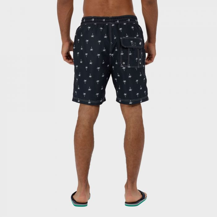 Hadden Board Shorts Navy Palm