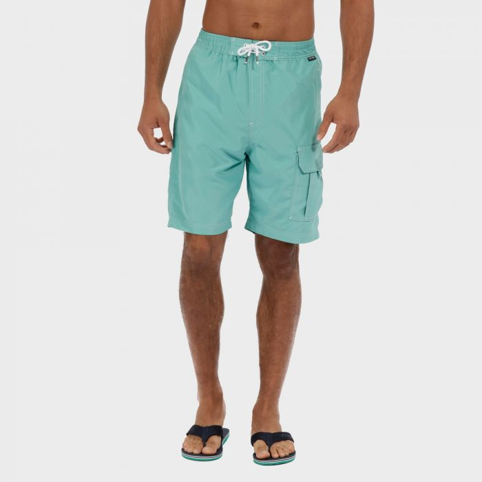 Hotham Board ll Swim Shorts Jade Green