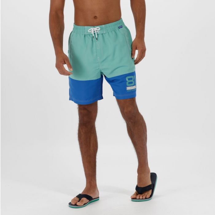 Brachtmar II Swim Shorts Jade OxfBlue