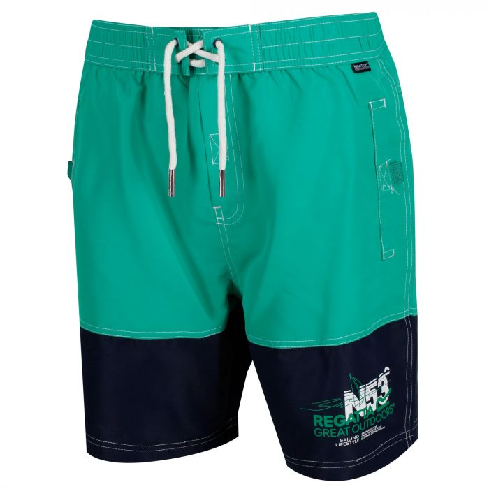 e45081be71 Men's Bratchmar III Swim Shorts Jellybean Green Navy | Regatta ...