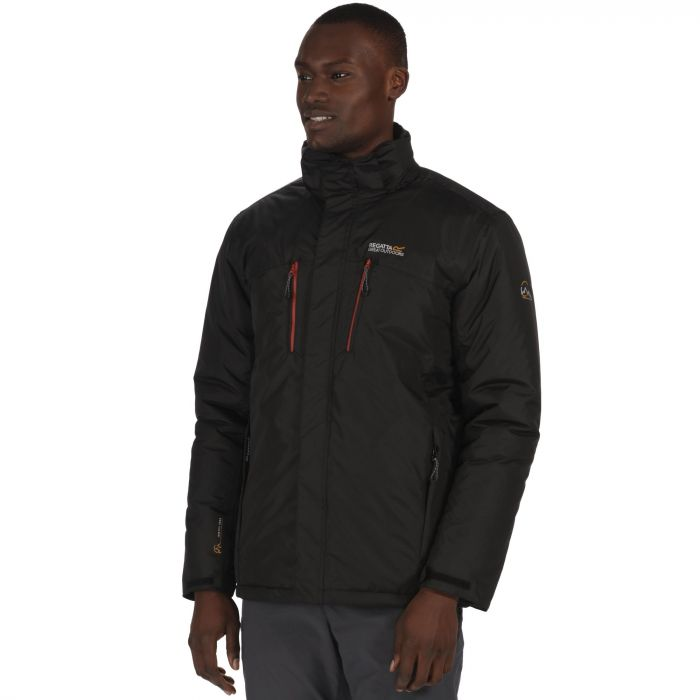 Fabens Waterproof Insulated Jacket Black