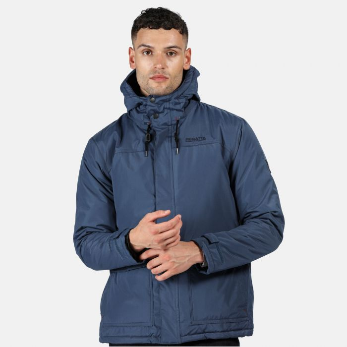Syrus Herren Jacke wasserdicht & isoliert Dark Denim