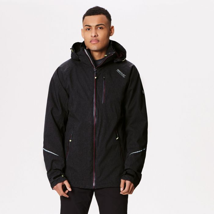 Glyder IV Waterproof 3-in-1 Jacket Black