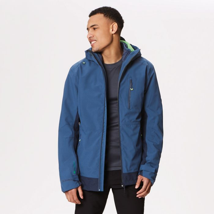 Wentwood III Waterproof 3-in-1 Jacket Dark Denim Navy