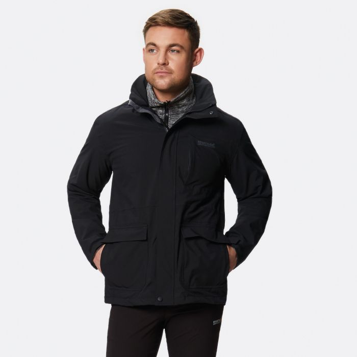 Northton II Waterproof 3-in-1 Jacket Black