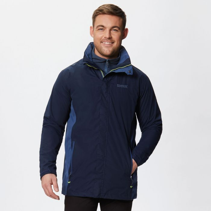 Telmar II Waterproof 3-in-1 Jacket Navy Dark Denim