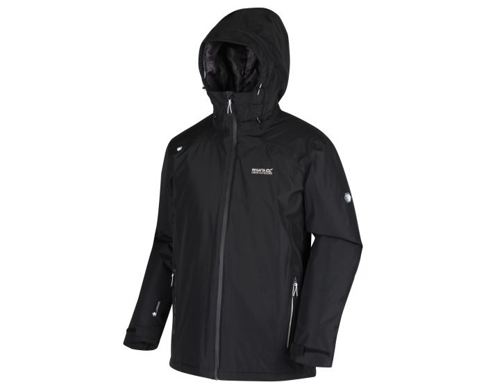catalog: Mens Thornridge II Waterproof Insulated Walking Jacket Black