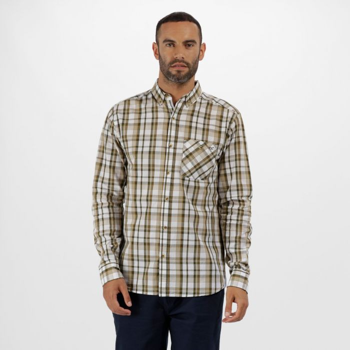 Bacchus Coolweave Long Sleeve Shirt Ivy Green