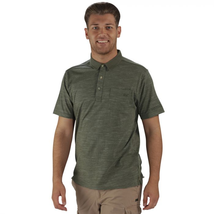 Pawel Polo Shirt Olive Night
