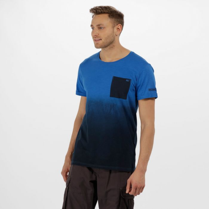 Tyren Coolweave Cotton T-Shirt Navy Oxford Blue
