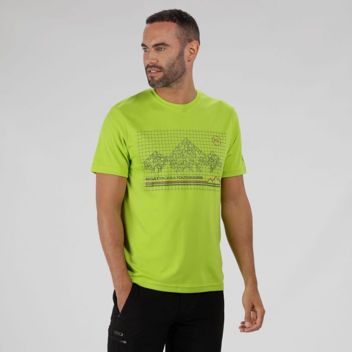 Fingal III Lightweight T-Shirt Lime Green