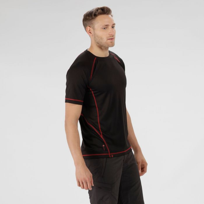 Virda II Lightweight T-Shirt Black Pepper