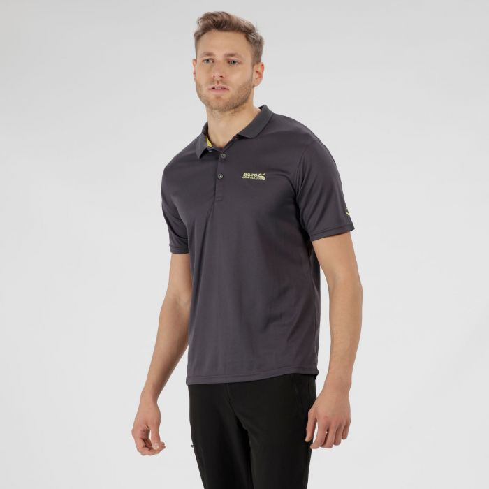 Maverik IV Polo Shirt Seal Grey