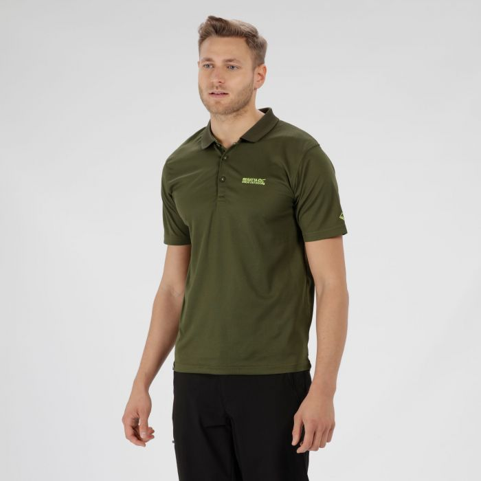 Maverik IV Polo Shirt Racing Green