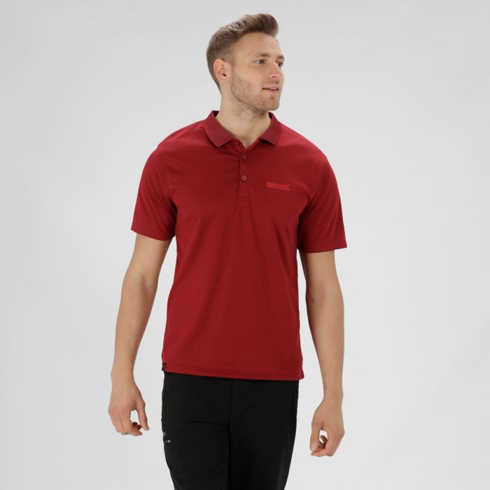 Maverik IV Polo Shirt Delhi Red