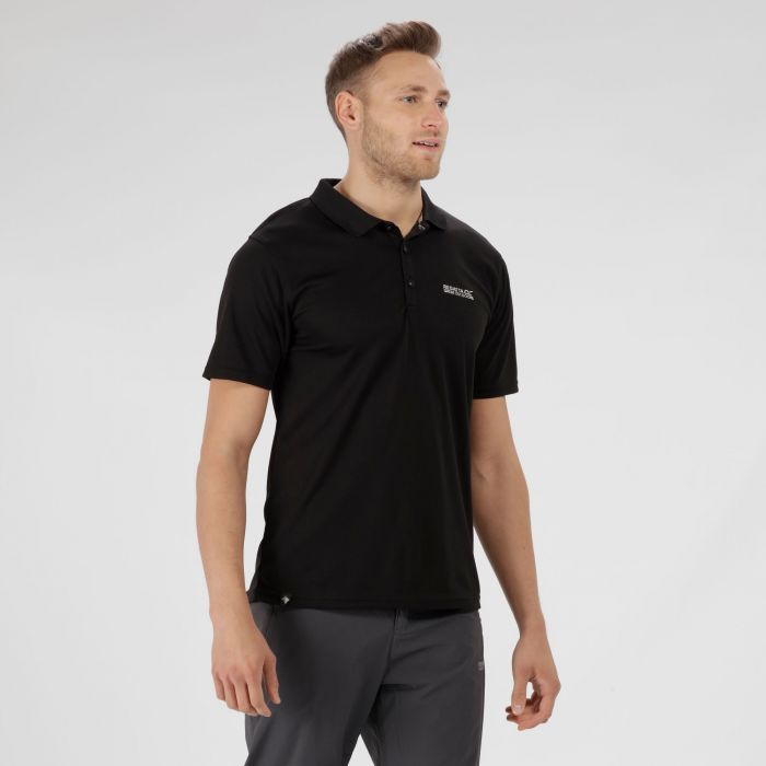 Maverik IV Polo Shirt Black