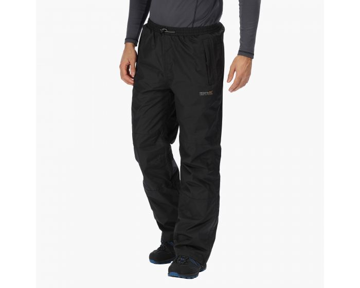 Regatta Mens Chandler Iii Waterproof and Breathable Lined Regular Leg Trousers